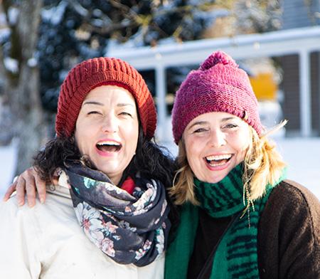 Bild von Meret und Evelyn